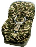 Daddy Camo Toddler Car Seat Cover